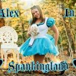 Alex Reynolds spanking