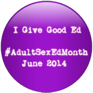 Adult Sex Education month